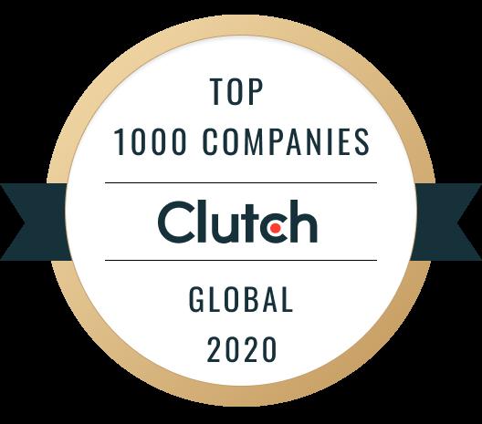 Clutch Global 1000 Award Winner